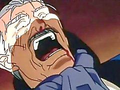 Hentai Gay de miel baisées par un homme âgé