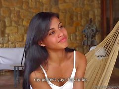 Denise Gomez - Shy Latina Teen's Shooting