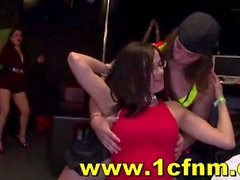 Women Go Wild For Stripper Cock at Cfnm Party