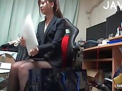 Sexy Asian Office Girl