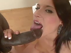 Full Blowjob Lips and POV Fucking in Interracial Hardcore Audition Amateur