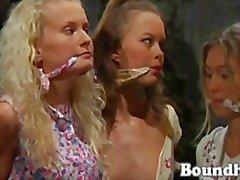Lesbain Slave Huntress part 2 from boundheat
