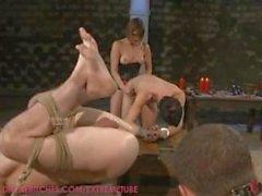 Maitresse Madeline prueba 3 de sus esclavos