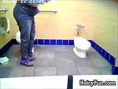 Yağlı Hint Bir Tuvalet günü öfkelenerek İzlenen