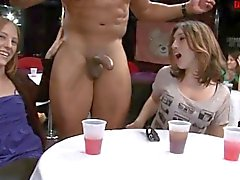 BBC newbie facialized at party after giving bj