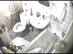 La mia fotocamera hidden stata solo negli luogo ideale , aveva linea di vista sia del servizi igienici e della vasca