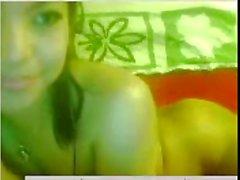 Sexy Thai girl naked on webcam