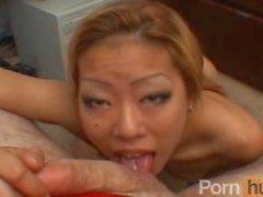 Tight naughty asian office chick