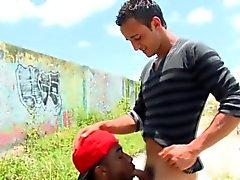 Nubian thug rides cock