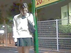 Japanese teen toying box
