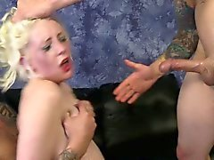 Lily Lovecraft pale blonde rough oral