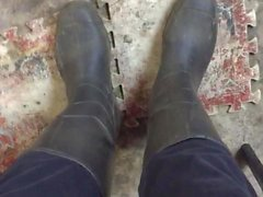 Botas de mis pies olor