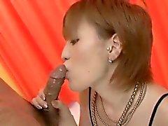 Ravishing POV avsugning av häpnadsväckande Kaoru Amamiya