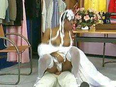 Short Hair Ebony Swarovski Fraulein Bride