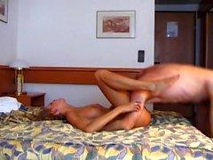 Amateur couple doggystyle sex