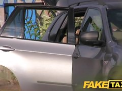 Fake Taxi Creampie ride for a cheerleader