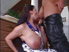 Bozena (Ester) kitchen fuck