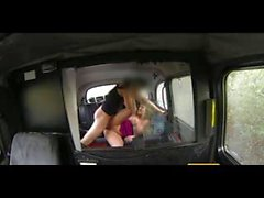 FakeTaxi Sandy lady takes wants to party