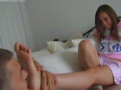 Worship Sorority Girl's Feet