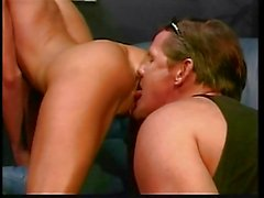Salad tossing blond whore gets fucked
