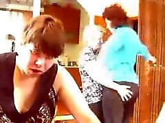 Maduras ebrias por webcam
