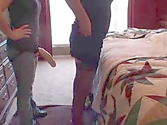 lttlet1 strapon hike your skirt