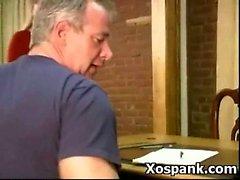 Cruel Teen Fancying Spanking BDSM
