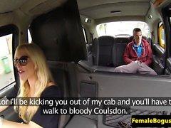 British taxi driver cocksucking passenger