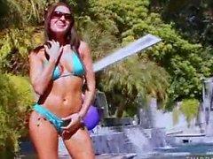 AnnMarie Rios Is A Hot Bikini Babe