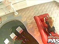 Aleska Diamond Haves A Cock Rodeo