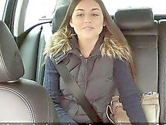 Fake taxi driver recording his sex in public