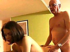 Fortunato Oldman scopate di Teenie facciale e lei