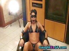 GF francés llegar BDSM part4 del tornillo el dominio