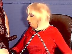 Mistress Using Master's Sissy Slut
