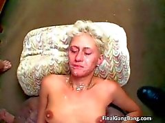 Sexy blonde MILF gets her last gangbang part3