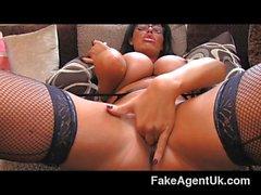 FakeAgentUK - Tall secretary chick nice tits