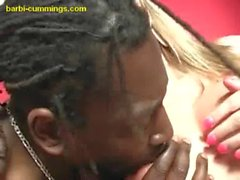 Two Hung Blacks For Blonde