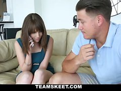 Beauteous young chick Nickey Huntsman makes a sextape with
