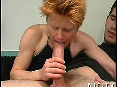 French redhead female gets her ass Julieta from 1fuckdatecom