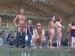 mature big boob wet t contest at abate of iowa 2014