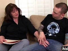 Ginger gets plowed by her hubby