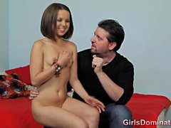 submissive petite does it all