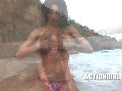 Veronica Zemanova Hot in Ibiza, HD