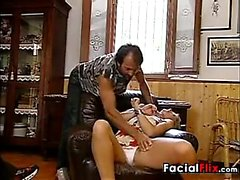 Double Penetrated Blonde MILF Classic