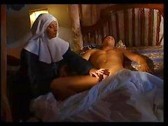 Монахиня гребаный рогатый грешник