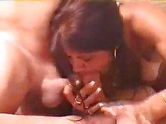 Kvinna Dubbla Blåsjobb!