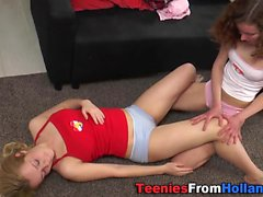 Flexible teen tastes les