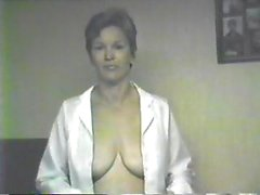 Donna is a short-haired blonde hottie who blows her husband