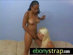 Interracial Lesbian Toy Sex 26