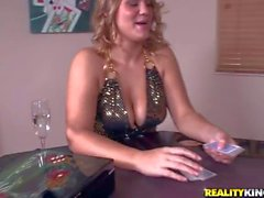 Levi Cash plays strip poker with buxom Jordyn Peaks